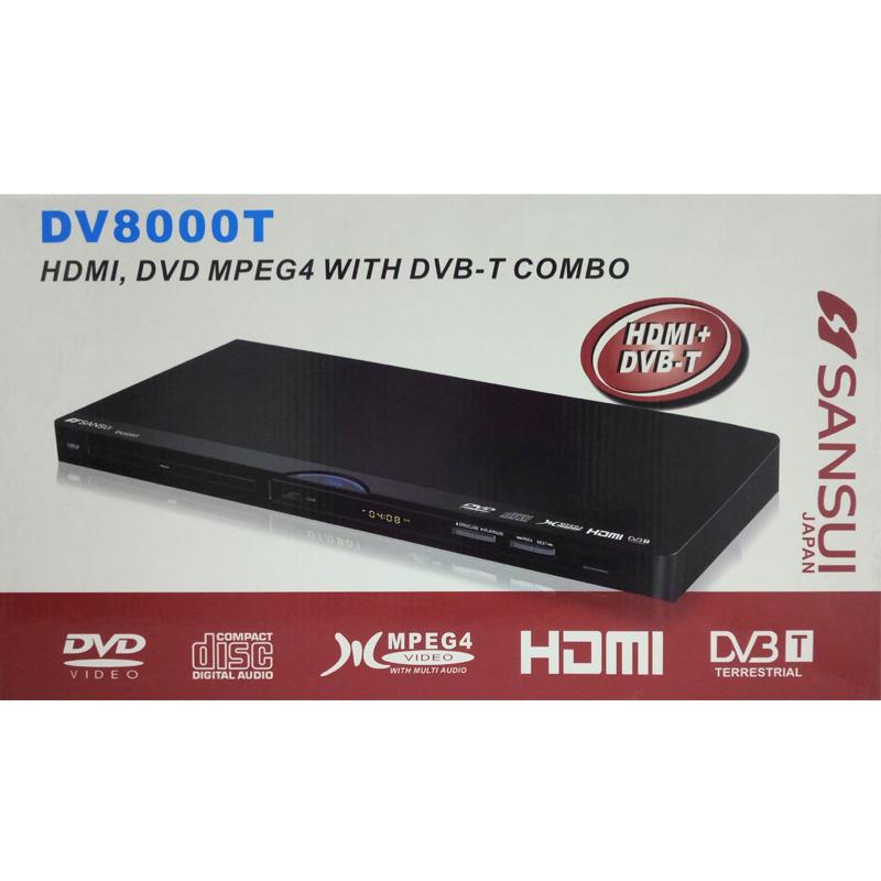 Lettore DivX + DVB-T con HDMI SANSUI DV8000T foto 2