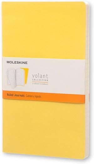 Moleskine taccuino journal volant coll. righe giallo