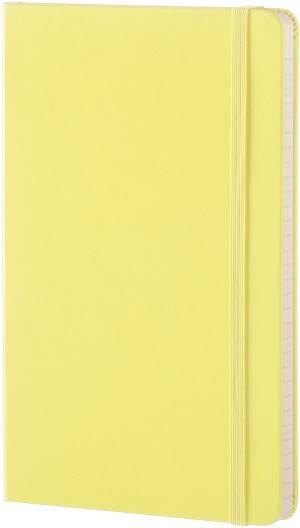Moleskine taccuino coloratoa righe large giallo limone