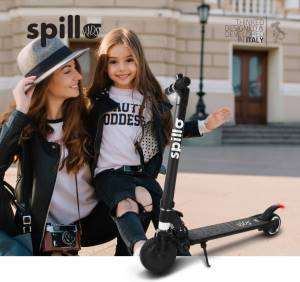 The one scooter elettrico spillo kids 150w black