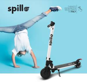 The one scooter elettrico spillo kids 150w white
