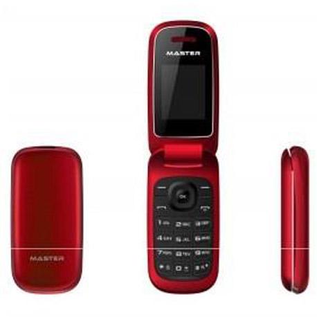 MOBILE PHONE CLAMSHELLMASTER MF16 RED ITALIA