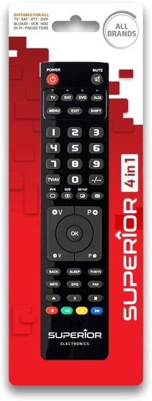 Superior telecomando universale 4 in 1 light