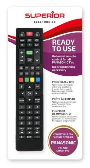 Superior telecomando universale panasonic funzioni smart tv sm