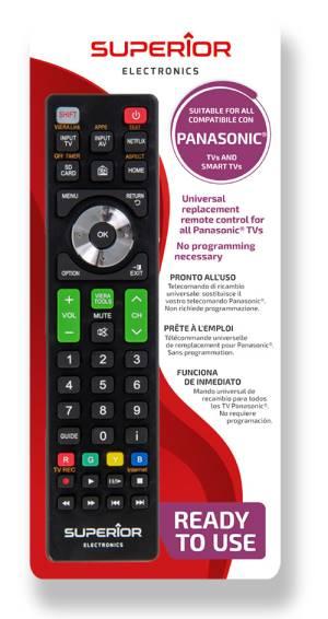 Superior telecomando universale panasonic funzioni smart tv sh