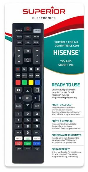 Superior telecomando universale hisense funzioni smart tv sm