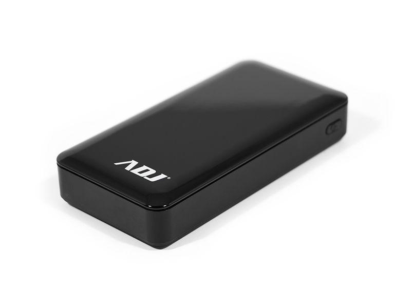 POWER BANK 20000MAH P/USB*2 ZAFFIR BK C/CAVO MICROUSB 5V/2 TORCIA ADJ