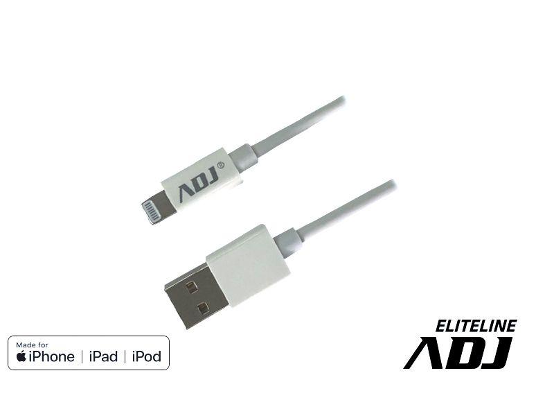 CAVO USB 2.0 LIGHTNING 1,5MT MFI WH MADE FOR APPLE ADJ