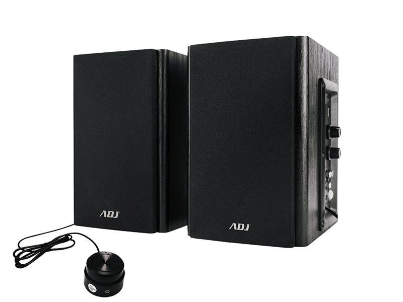 SPEAKER WOOD 2.0 SET 30WRMS EDU ADJ PRO-SOUND EDU CAV AUDIO 5MT+CONTROL