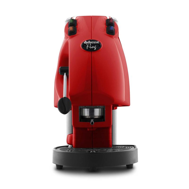 Frog revolution base rosso pieno macchina da caffialde 44mm