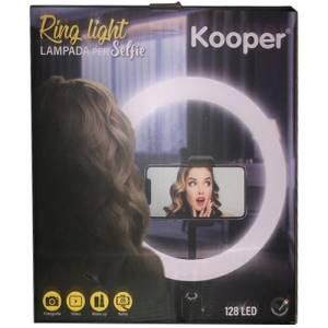 Kooper lampada selfie con treppiedi da terra e piedistallo da tavolo