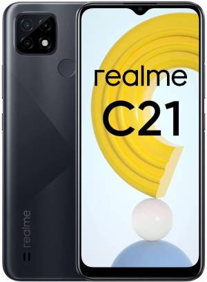 Realme c21 4+64gb 6.5 cross black ds operatore