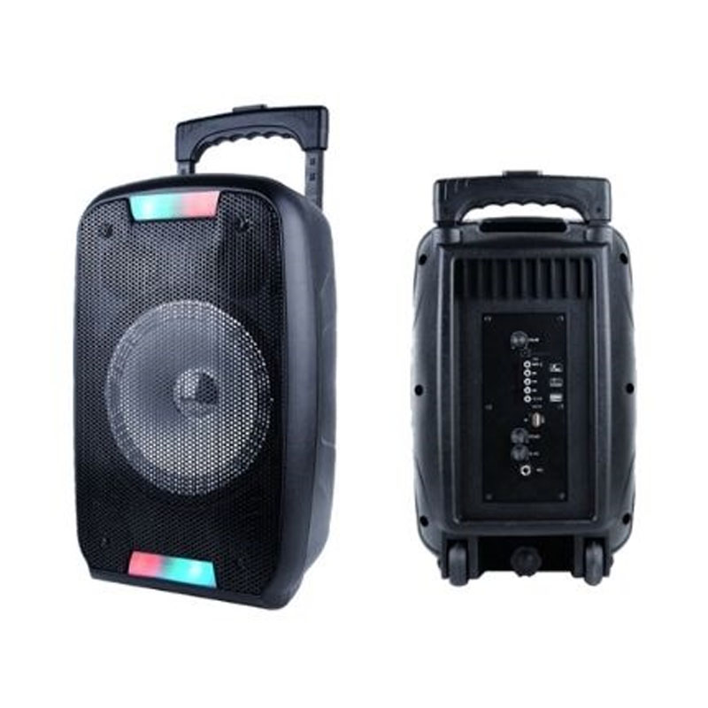 PARTY SPEAKER PORTATILE AKAI AKBT1000 BLACK - BLUETOOTH USB AUX MICROFONO 50 WATT foto 2