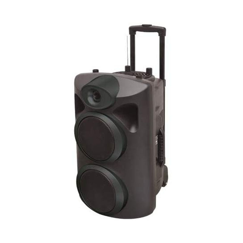 PARTY SPEAKER PORTATILE AKAI AKBT1300 BLACK - BLUETOOTH USB AUX MICROFONO 100 WATT