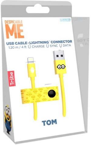 Tribe cavo mfi lightning iphone 1.2m minions tom