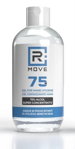 Rmove gel igienizzante mani con alcool 75% 250ml
