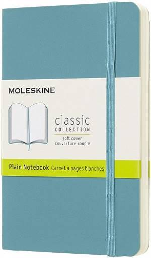Moleskine Quaderno a Pagine Bianche Blu foto 2