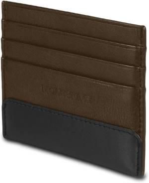 Moleskine portafoglio classico in pelle bark brown