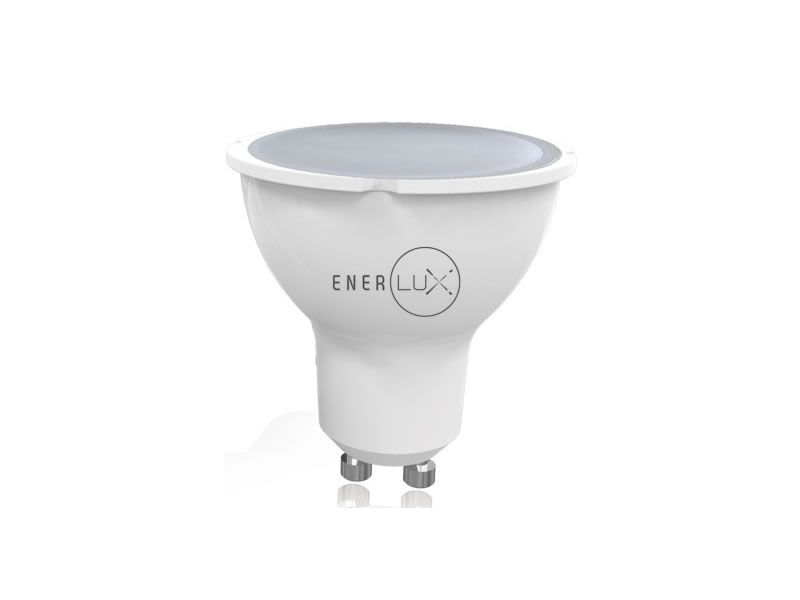 LAMPADINA LED ENERLUX GU10 4W 4000K LUCE NEUTRA FARETTO LUMEN 281