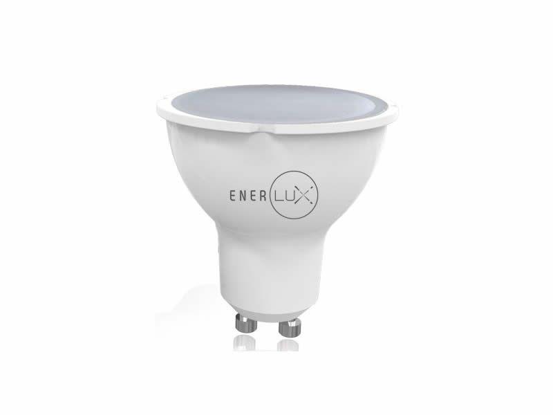 LAMPADINA LED ENERLUX GU10 7W 6500K LUCE FREDDA FARETTO LUMEN 550 foto 2