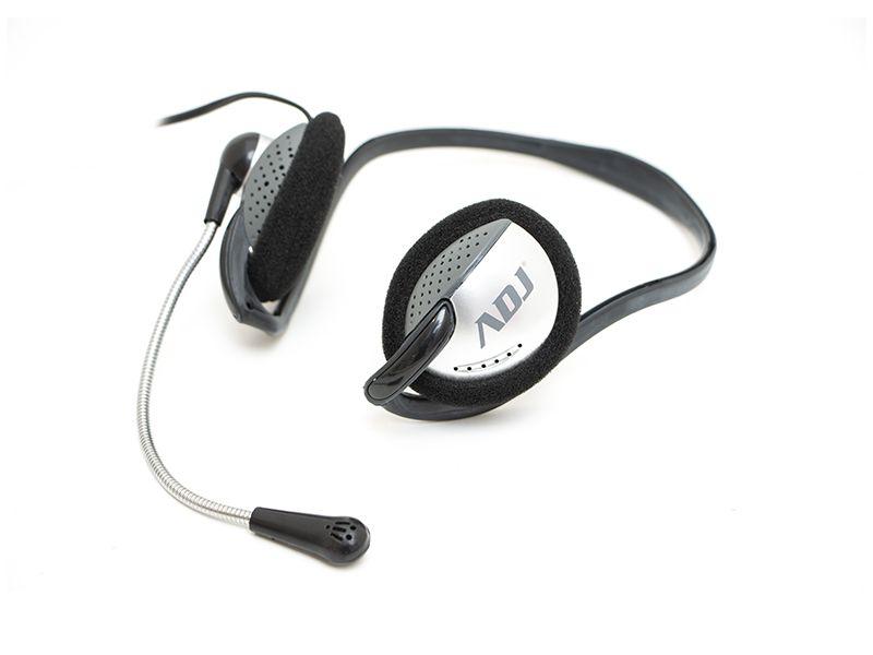 CUFFIA C/MICROFONO 3,5MM BK/GY EASY SMARTPHONE/TABLET ADJ