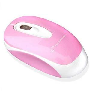 Techmade mouse ottico usb rosa