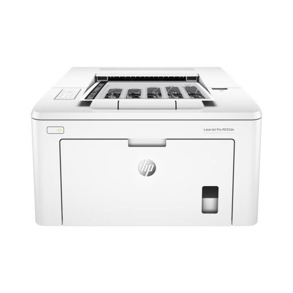 Stampante HP LaserJet PRO M203DN laser LAN fronte retro automatico foto 2