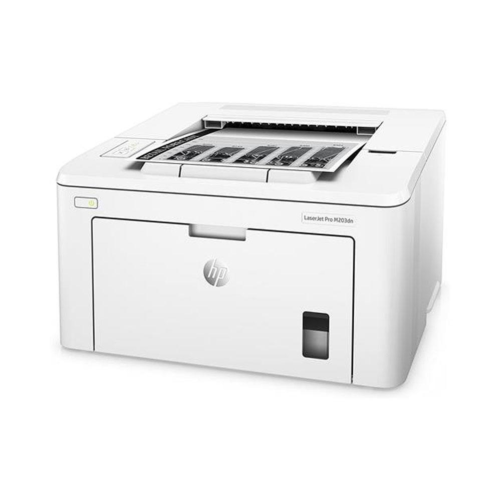 Stampante HP LaserJet PRO M203DN laser LAN fronte retro automatico foto 3