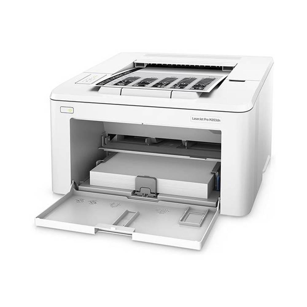 Stampante HP LaserJet PRO M203DW laser Wi-Fi LAN fronte retro automatico foto 4
