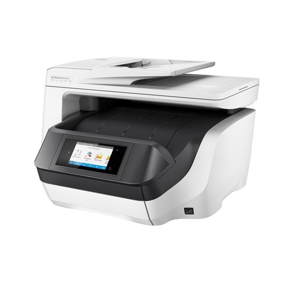 Stampante multifunzione HP OfficeJet PRO 8730 inkjet fronte-retro Wi-Fi LAN foto 3