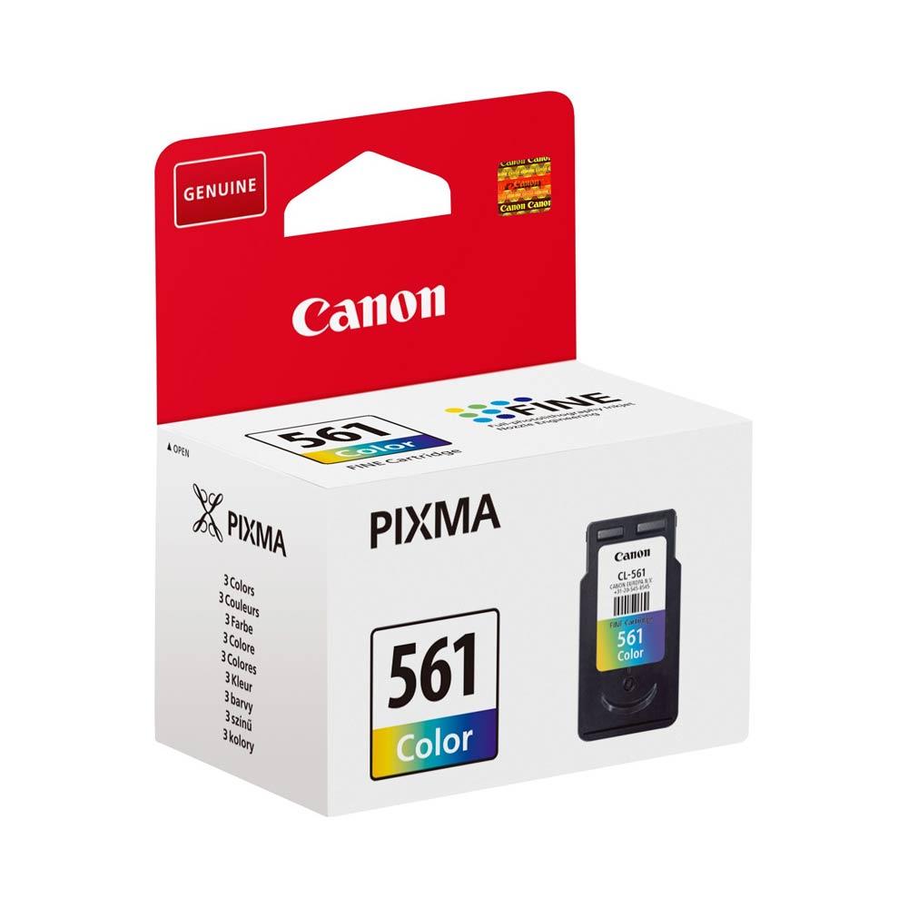 Cartuccia originale Canon CL-561 con 3 colori misti ad alte prestazioni foto 3
