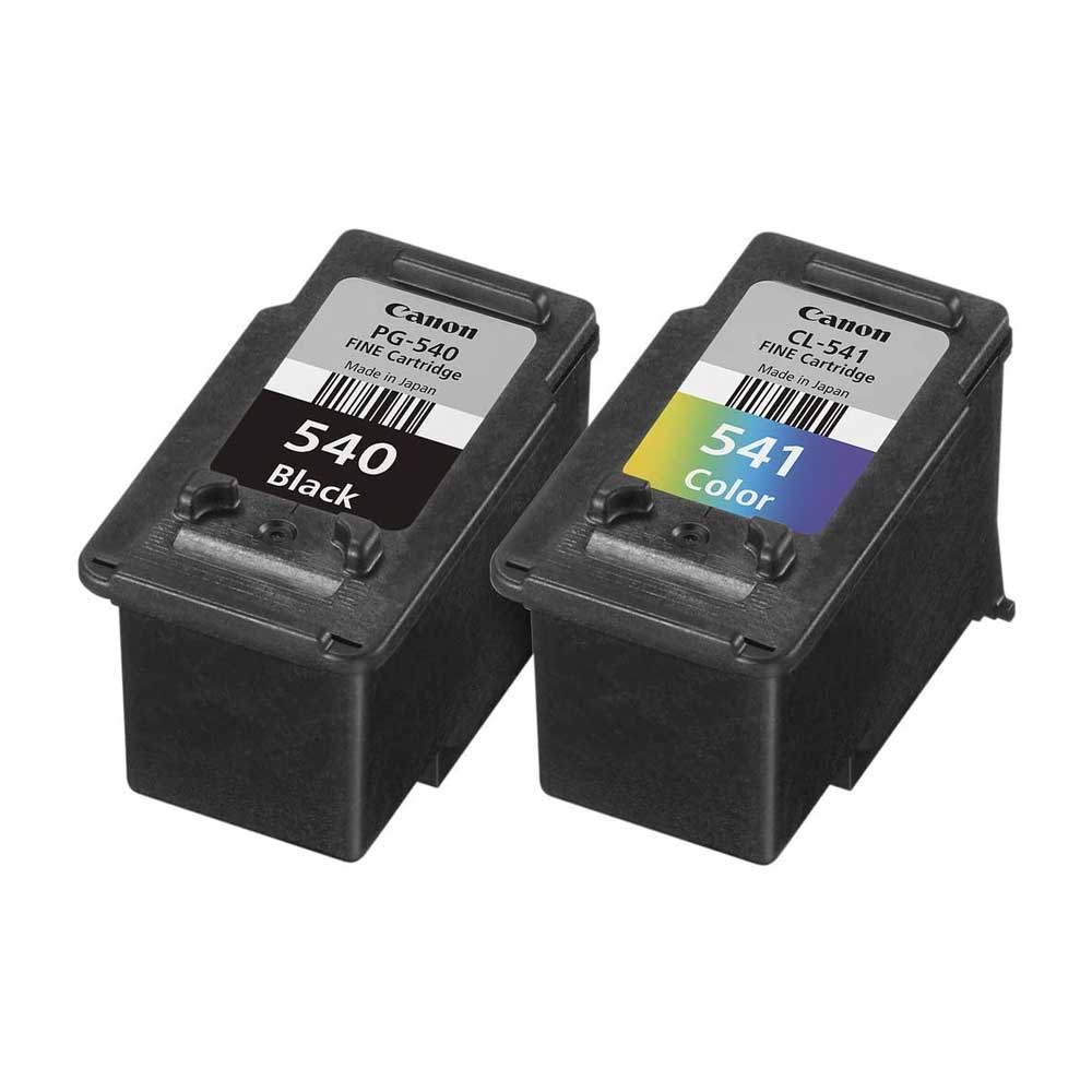 Cartuccia originale Value Pack Canon PG540+CL541 inchiostro nero e tricomia foto 4