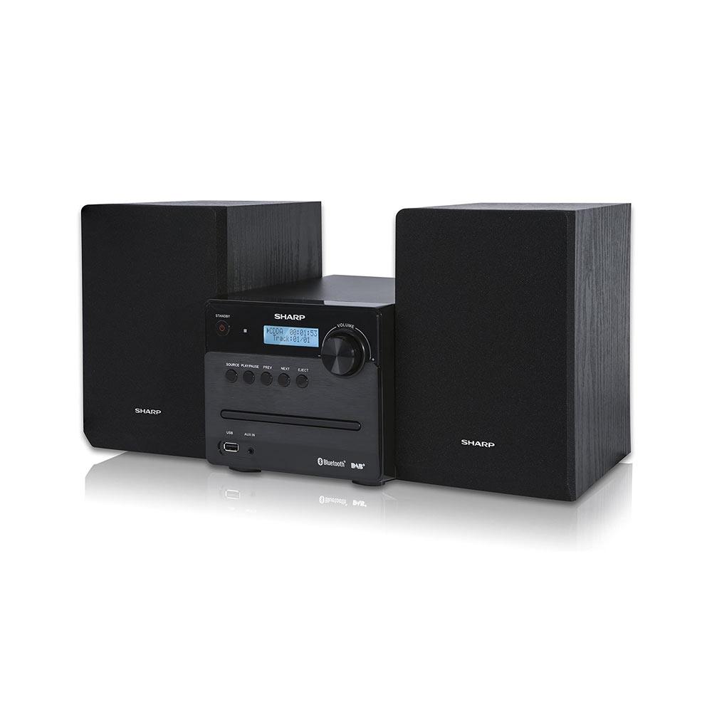 Impianto Sharp XL-B515D Hi-FI, 2 altoparlanti 40W, USB, Radio DAB, Bluetooth, CD foto 2