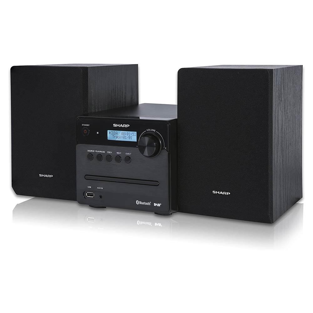 Impianto Sharp XL-B515D Hi-FI, 2 altoparlanti 40W, USB, Radio DAB, Bluetooth, CD foto 3