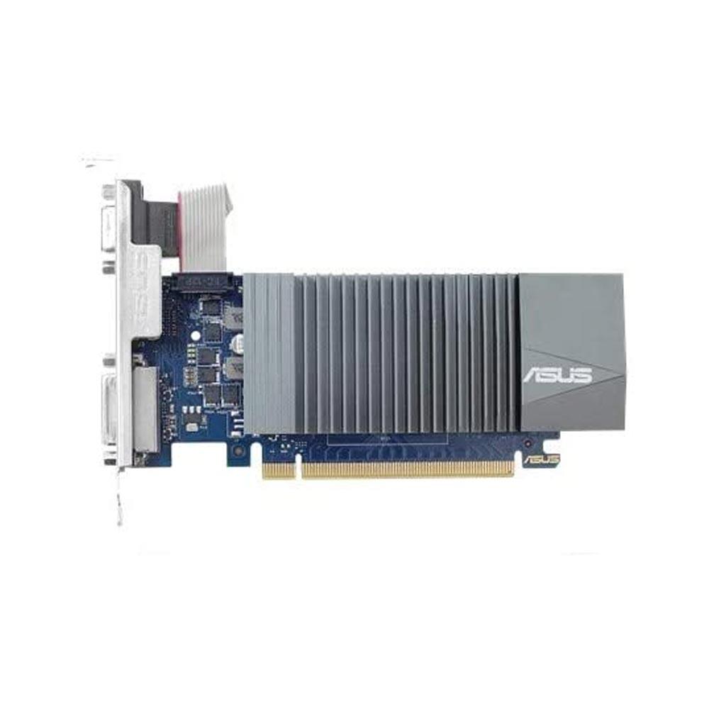 Scheda video asus nvidia gt 710 1gb gddr5 dvi-d hdmi x64 risoluzione fino a 4k.