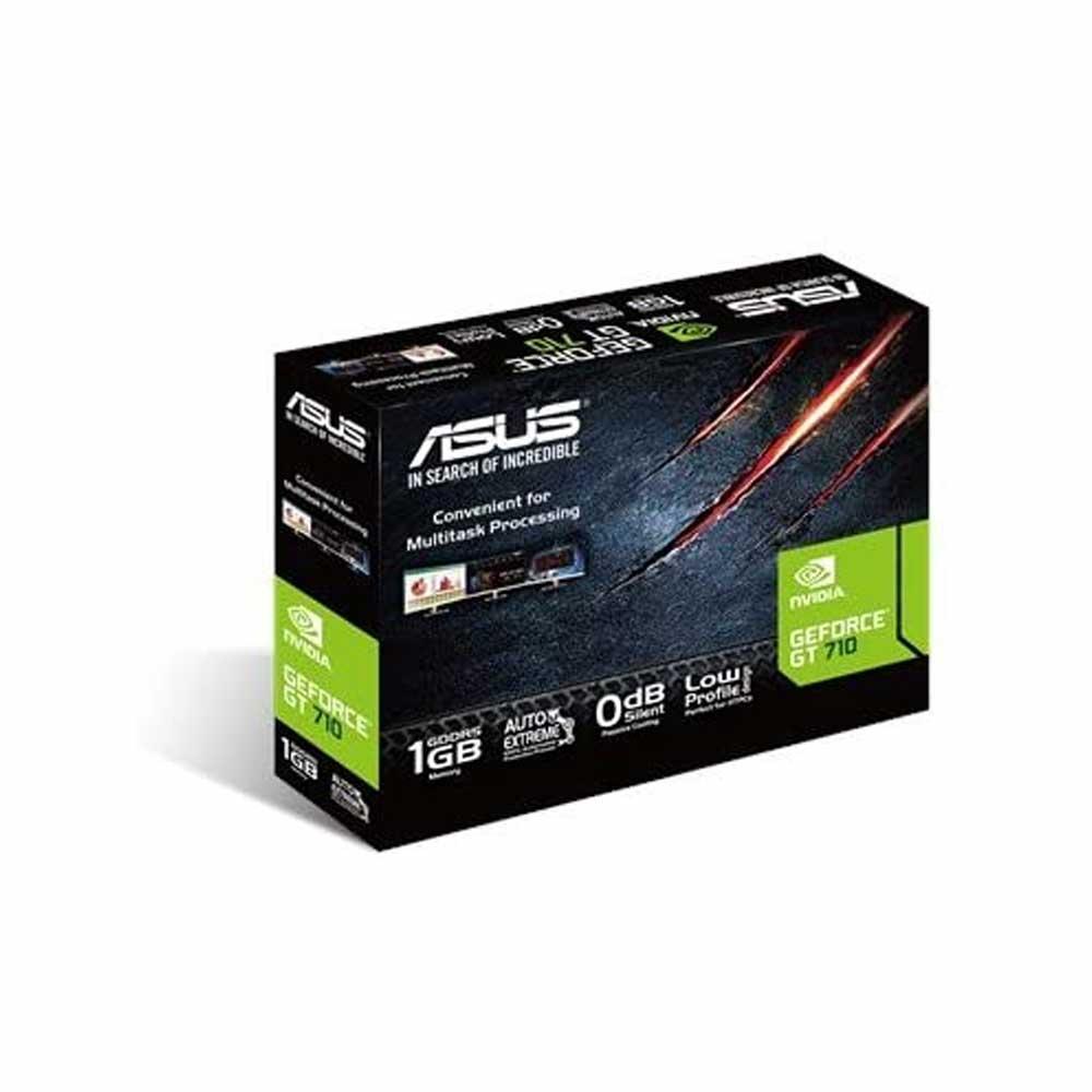 Scheda video Asus Nvidia GT 710 1gb GDDR5 DVI-D HDMI x64 risoluzione fino a 4K foto 5