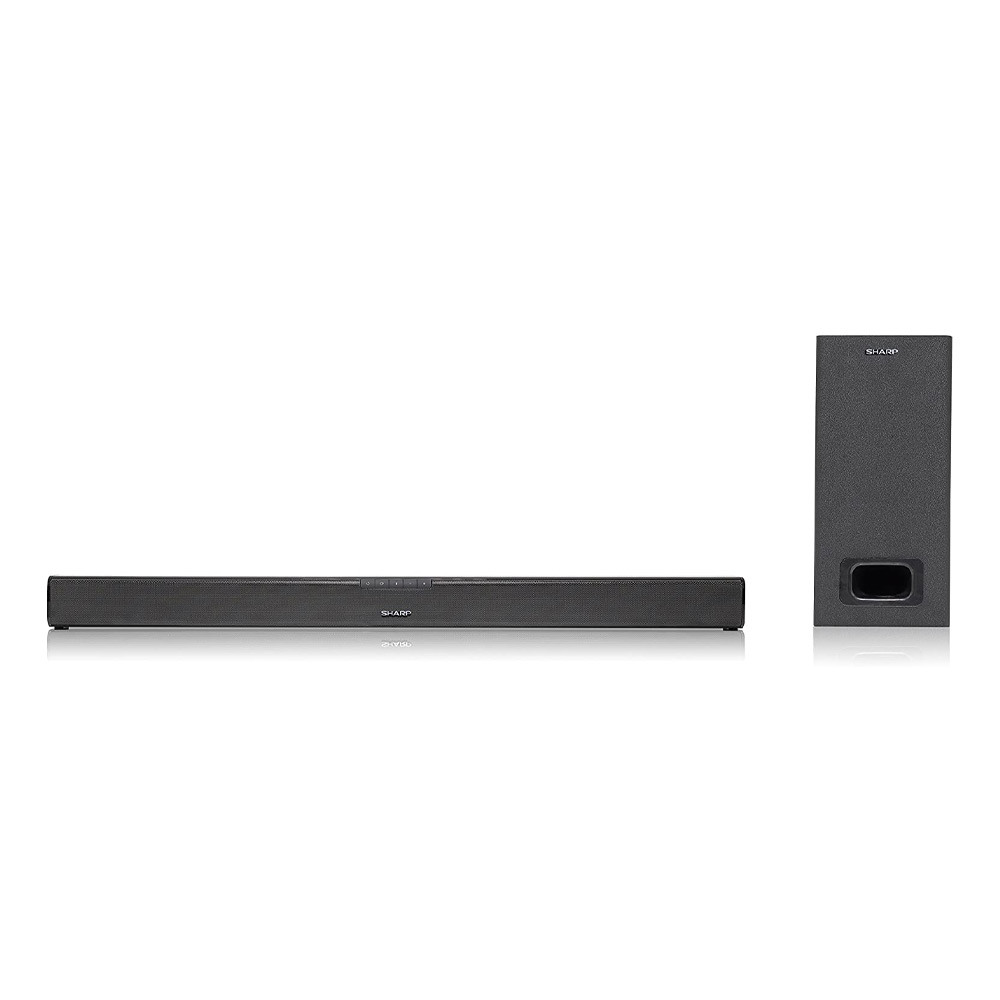 Soundbar sharp ht-sbw110 home theatre 2.1 180w con subwoofer hdmi bluetooth