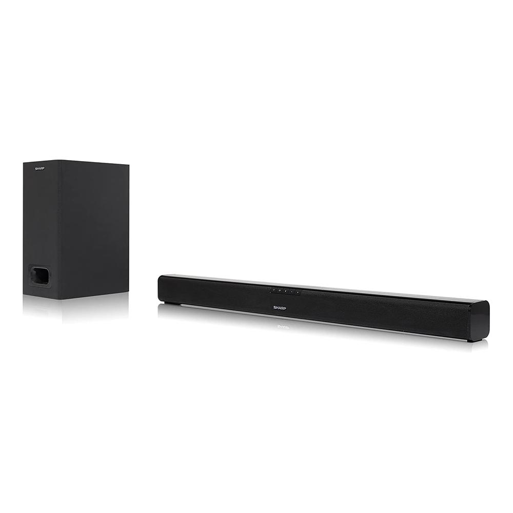 Soundbar Sharp HT-SBW110 Home Theatre 2.1 180W con Subwoofer HDMI Bluetooth  foto 3