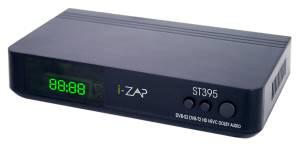 I-zap decoder st395 play dvb-t2 dvb-s2 hevc 10 bit hd hdmi/usb/lan