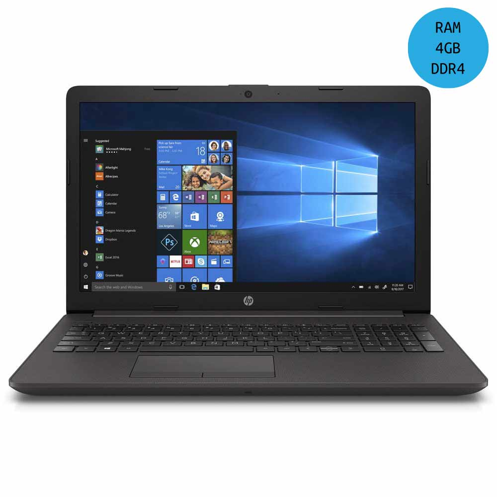 "notebook portatile hp 15,6"" intel i3-8130u 4gb ram 256gb ssd windows 10"