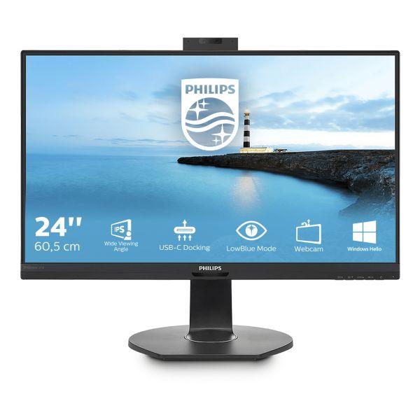 MON 23.8IPS HDMI DP USB C MM PHILIPS 241B7QUBHEB/00 WEBCAM