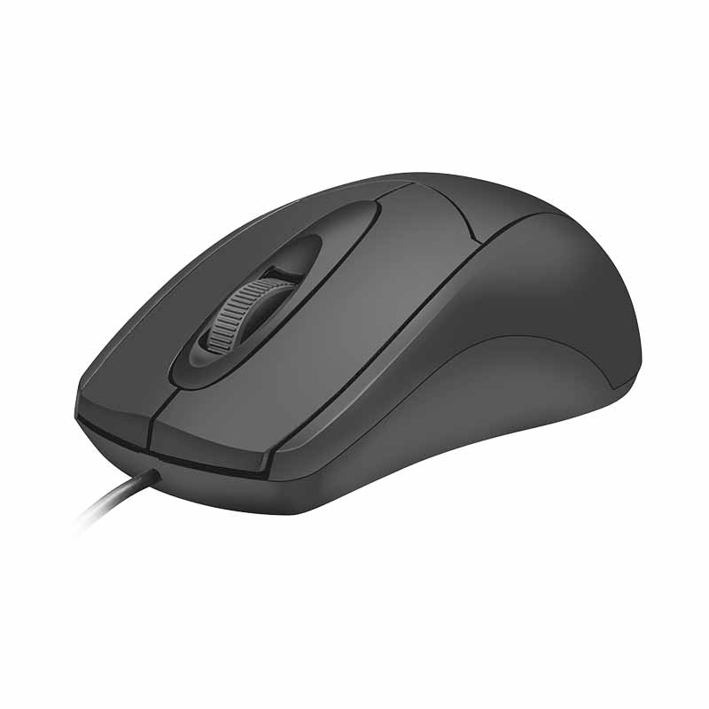 MOUSE TRUST ZIVA - USB BLACK 21947
