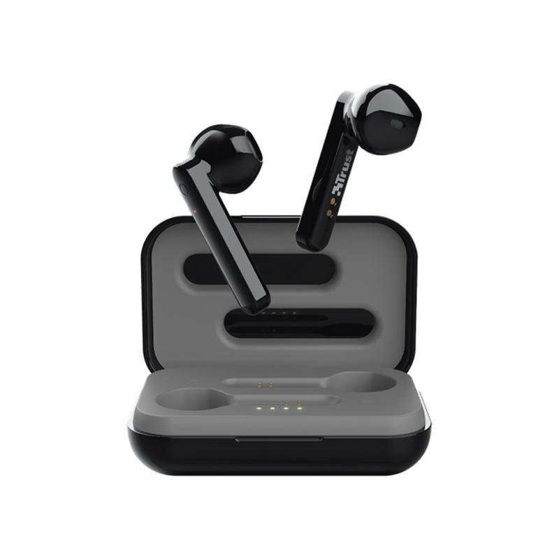 AURICOLARI TRUST PRIMO TOUCH NERO - Wireless Bluetooth 5.0 23712 foto 2