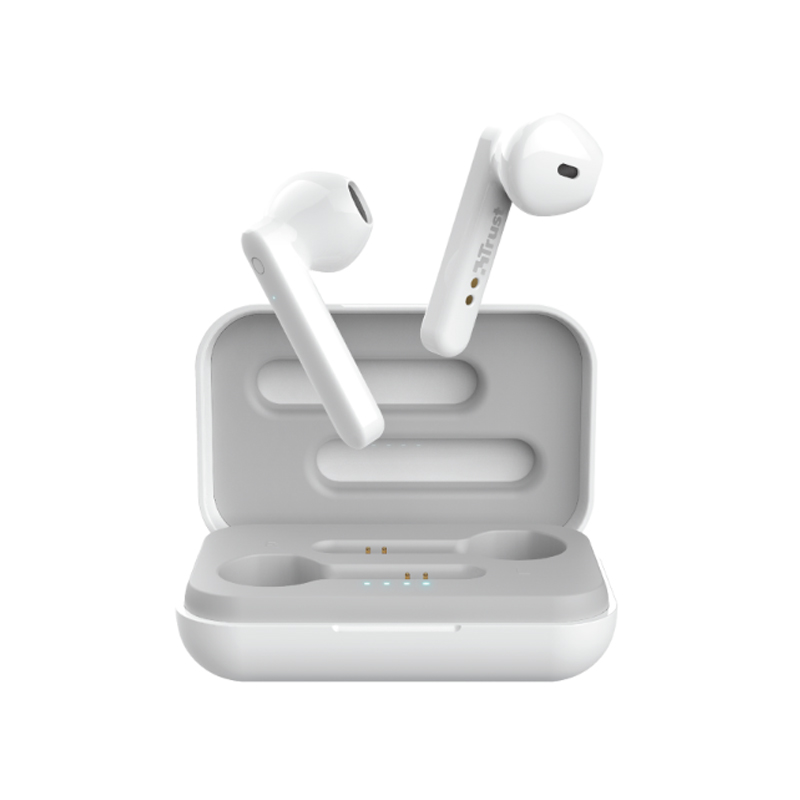 AURICOLARI TRUST PRIMO TOUCH BIANCO - Wireless Bluetooth 5.0 23783 foto 2