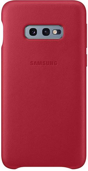 Samsung leather cover vg970lre galaxy s10e red