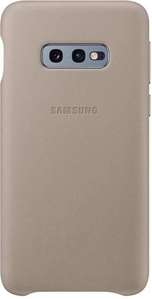 Samsung leather cover vg970lje galaxy s10e grey