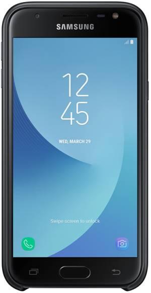 Samsung dual layer cover j3 2017 black