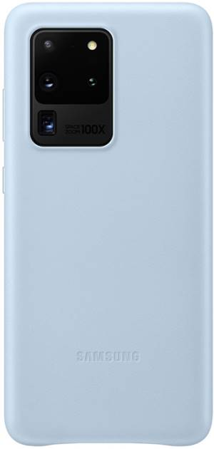 Samsung leather cover ef-vg988 galaxy s20 ultra sky blue