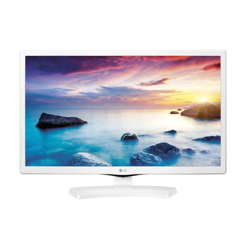 Lg 24 monitor tv led 24tn510s-wz hd ready smart tv white eu