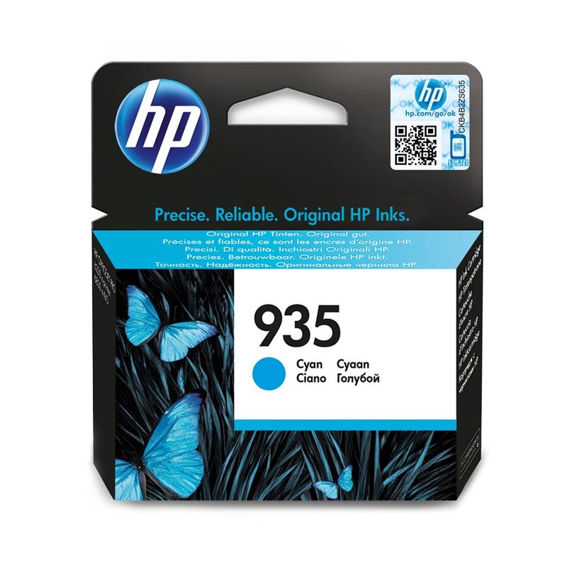 CARTUCCIA ORIGINALE HP C2P20AE 935 CIANO foto 2